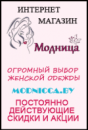 Интернет-магазин модной одежды  «МОДНИЦА»