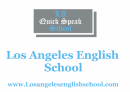 Los Angeles English School, Бердичев