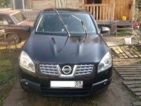 Nissan Qashqai 2008 ЧЕРНЫЙ