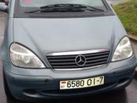 Mercedes-Benz A Хетчбэк 1.6 2002 с пробегом