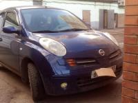 Nissan Micra 2003 СИНИЙ