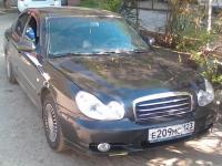 Hyundai Sonata 2008 ЧЕРНЫЙ