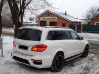 Mercedes-Benz GL 2014 БЕЛЫЙ