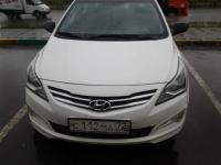 Hyundai Solaris 2014 БЕЛЫЙ