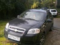 Chevrolet Aveo 2009 ЧЕРНЫЙ