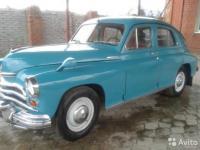 ГАЗ 20 1960 ЗЕЛЕНЫЙ