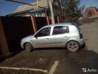 Renault Clio 2000 СЕРЕБРО