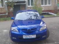 Mazda Mazda 3 2008 СИНИЙ