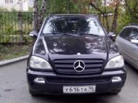 Mercedes-Benz ML 2002 ЧЕРНЫЙ