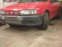 Nissan Primera 1995 КРАСНЫЙ