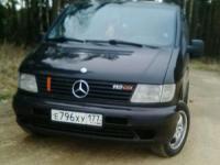 Mercedes-Benz V 2002 ЧЕРНЫЙ