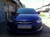 Hyundai Solaris 2013 СИНИЙ