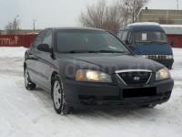 Hyundai Elantra 2008 ЧЕРНЫЙ