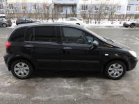 Hyundai Getz 2008 ЧЕРНЫЙ