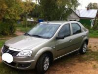 Renault Logan 2011 СЕРЫЙ