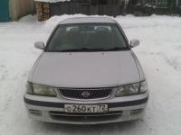 Nissan Sunny 2001 СЕРЕБРО