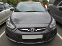 Hyundai Solaris 2013 СЕРЫЙ
