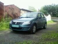 Renault Logan 2011 СИНИЙ