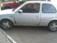 Nissan March 2001 СЕРЫЙ