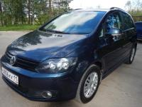 Volkswagen Golf Plus 2011 СИНИЙ