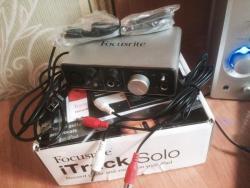 Аудиоинтерфейс, внешняя аудиокарта (ЦАП/АЦП) Focusrite iTrack Solo