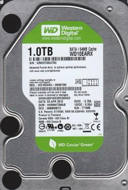 Продам HDD Western Digital 10EARX 1Tb SATA Caviar Green